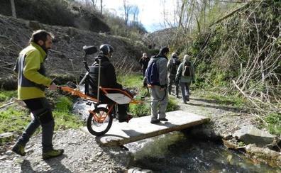 'Cordabarras y Sherpajoëlettes', una aproximación al montañismo inclusivo
