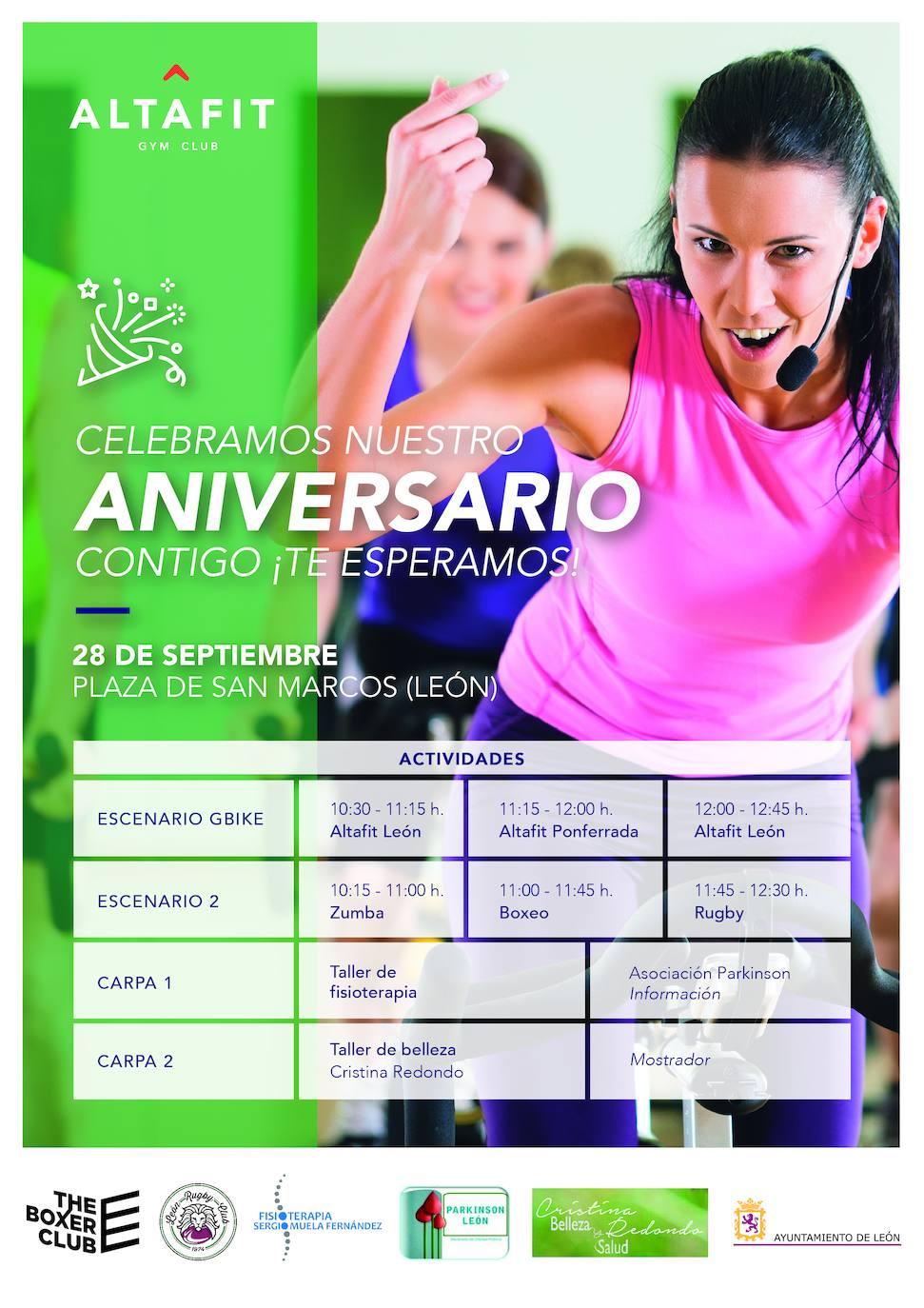 Altafit celebra su octavo aniversario con una 'fiesta del deporte'