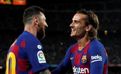 Triste victoria del Barça, con Messi lesionado