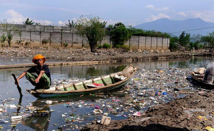 Las impactantes imágenes de la contaminación en el mundo