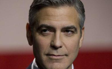 George Clooney colapsa el centro de Madrid