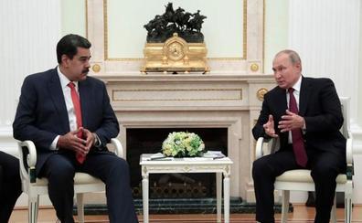 Putin le advierte a Maduro que sería «irracional y perjudicial» rechazar el diálogo con la oposición venezolana