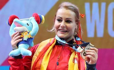 Lydia Valentín, plata en el Mundial tras una gran remontada en dos tiempos