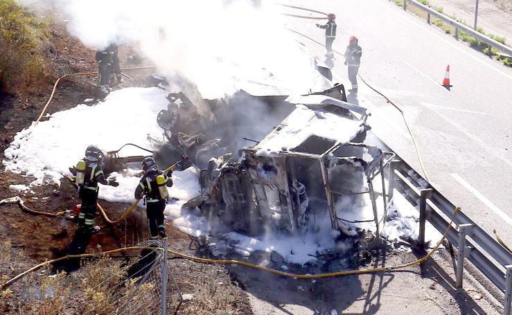 Accidente mortal en El Bierzo