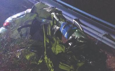 Tres muertos y un herido al colisionar un turismo con un camión en la A-66, en Zamora