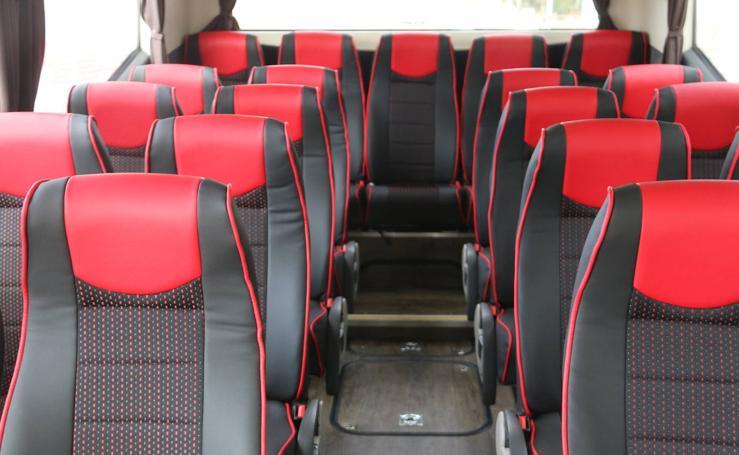 El nuevo autobús de la Cultural