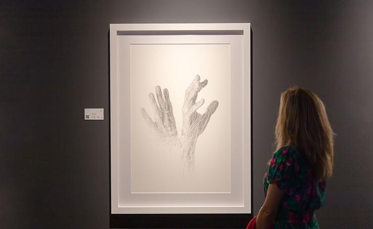 Las manos de Richard Le Manz