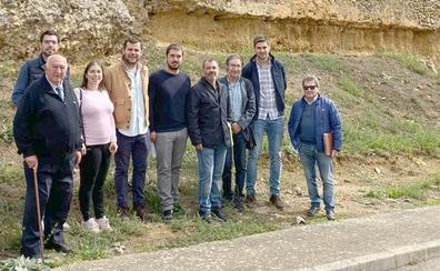 Arrancan las obras de restauración de un tramo de la muralla de Almanza con un presupuesto de 52.000 euros