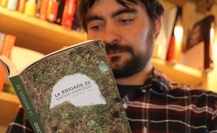 'Brigada 22', el nuevo libro del escritor leonés Emilio Gancedo