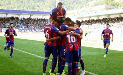 El Eibar pone el juego y los goles ante un Celta que no encuentra el camino