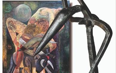 El artista leonés José Lasharte muestra su trabajo en el Auditorio de León