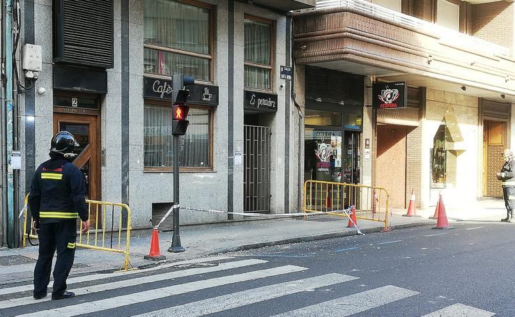 Desprendimientos en León capital