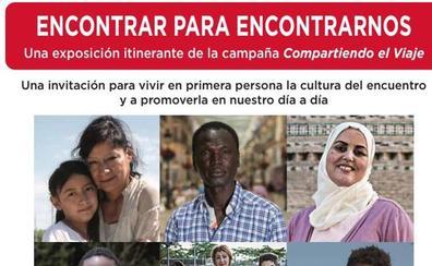 Cáritas León expone la muestra fotográfica 'Encontrar para encontrarnos'