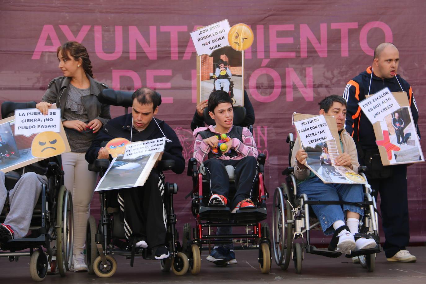 León 'Da La Vuelta' por las personas con parálisis cerebral
