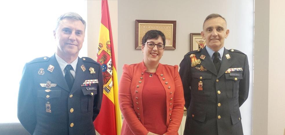 San Andrés estrecha lazos con la Academia Básica del Aire