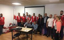 Cruz Roja Española en Villafranca del Bierzo presenta su Equipo de Respuesta Básica en Emergencias que cuenta ya con 6 voluntarios