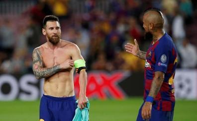 Messi apaga todos los fuegos