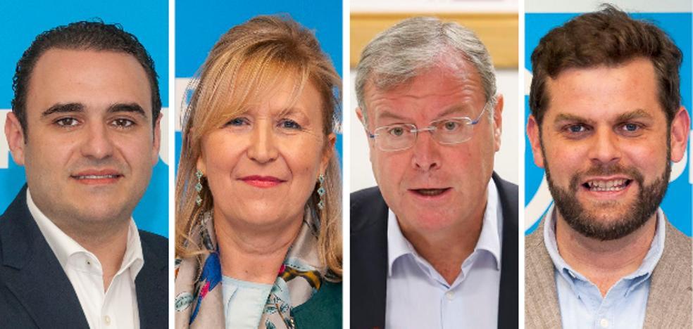 El PP solventa todas sus dudas: José Miguel González y Carmen Guinda, al Congreso; Antonio Silván y Javier Santiago, al Senado
