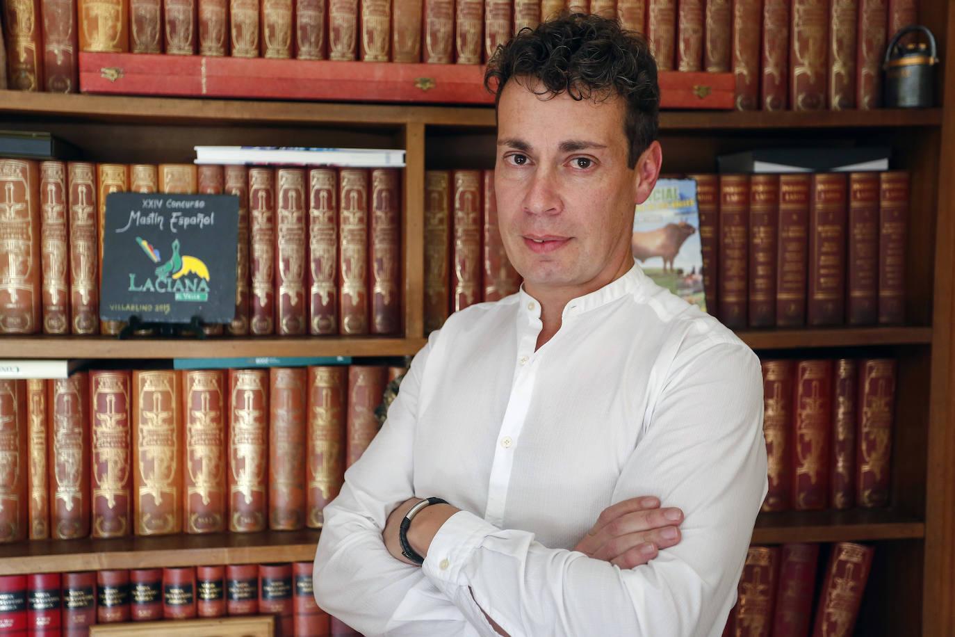 El alcalde de Villablino y presidente de Acom, Mario Rivas