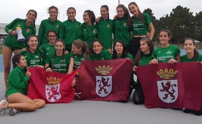 El ULE Sprint Atletismo, campeón de la final B del Campeonato de España sub-16 por clubes