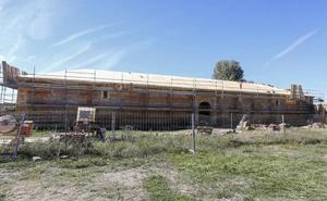 El monasterio de Santa María de Sandoval recuperará su panera esta Navidad