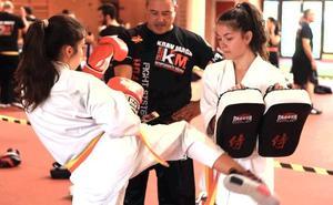 León acogió con éxito el Seminario Nacional FEL de Krav Maga