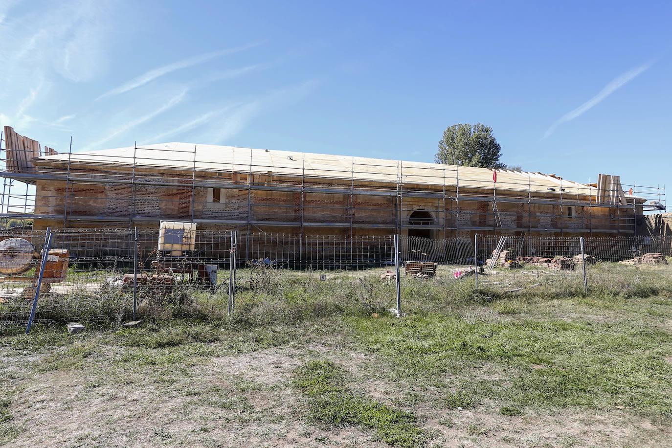 El director general de Patrimonio Cultural visita en Monasterio de Santa María de Sandoval