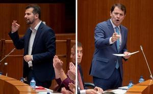 Tudanca acusa a Mañueco de «cargarse» el Diálogo Social por incumplir el acuerdo de las 35 horas