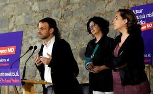 Malestar entre los comunes de Colau por el desafío de Más País en Barcelona