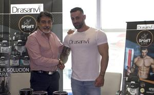 El culturista y fitness model Damián Gómez, nueva imagen de la línea Sport Live de Drasanvi