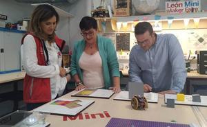 San Andrés estrecha la colaboración con el Fab Lab León para la puesta en marcha de iniciativas educativas