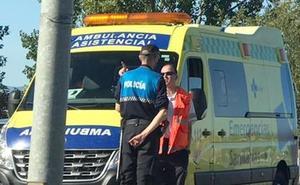 Cuatro heridos tras un atropello y tres accidentes más en apenas 20 minutos en León