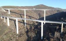 Fomento inicia la obra de conservación de los viaductos de Ruitelán y As Lamas en en Vega de Valcarce
