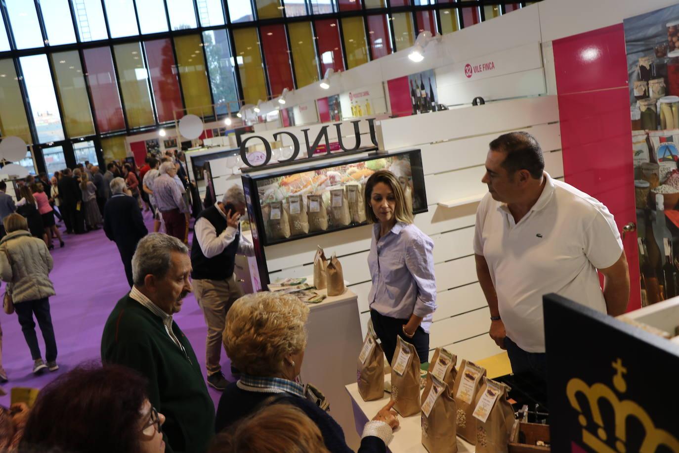 Inauguración de la Feria de Productos de León