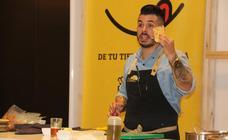 León cocina 'en vivo'