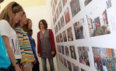 La Sala de Exposiciones del colegio Marista San José reune más de 70 fotografías de espacios dedicados al arte