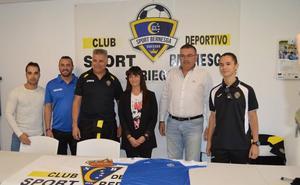 El Sport Bernesga cumple 25 años estrenando escudo pasando a ser club polideportivo