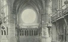 Una prestigiosa revista de 1901 mantiene que el rosetón se restauró íntegramente en León