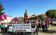 Santibañez de la Isla se planta contra la despoblación en el mundo rural leonés