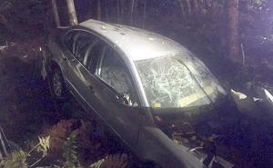 Dos fallecidos tras sufrir una aparatosa salida de vía en la Nacional 630 a la altura de El Rabizo