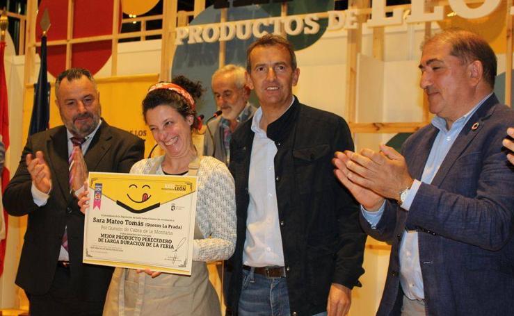 Premios y reconocimientos en la Clausura de la Feria de los Productos de León