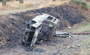 Denuncian el robo de un vehículo en San Andrés y aparece calcinado en la zona de Armunia