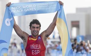 El leonés Kevin Viñuela, campeón de los Juegos Mundiales de Playa en Catar