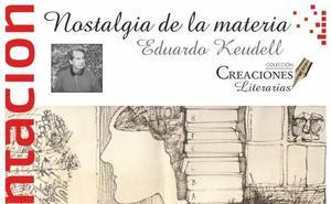 El Área de Publicaciones de la ULE presenta 'Nostalgia de la materia' de Keudell