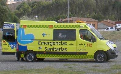 Una colisión entre dos turismos se salda con una persona herida en Chozas de Abajo