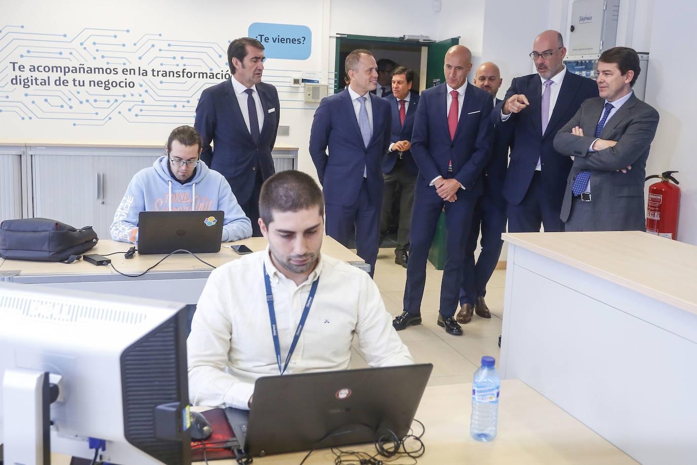 Presentación del Centro de Ciberseguridad de la Industria 4.0 de Telefónica en León