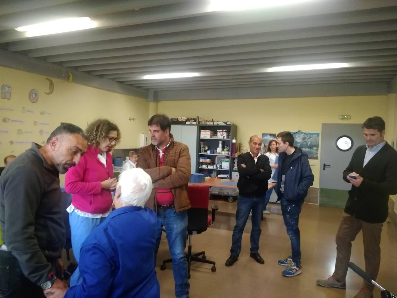 El Ayuntamiento de Garrafe de Torío visita Aspace