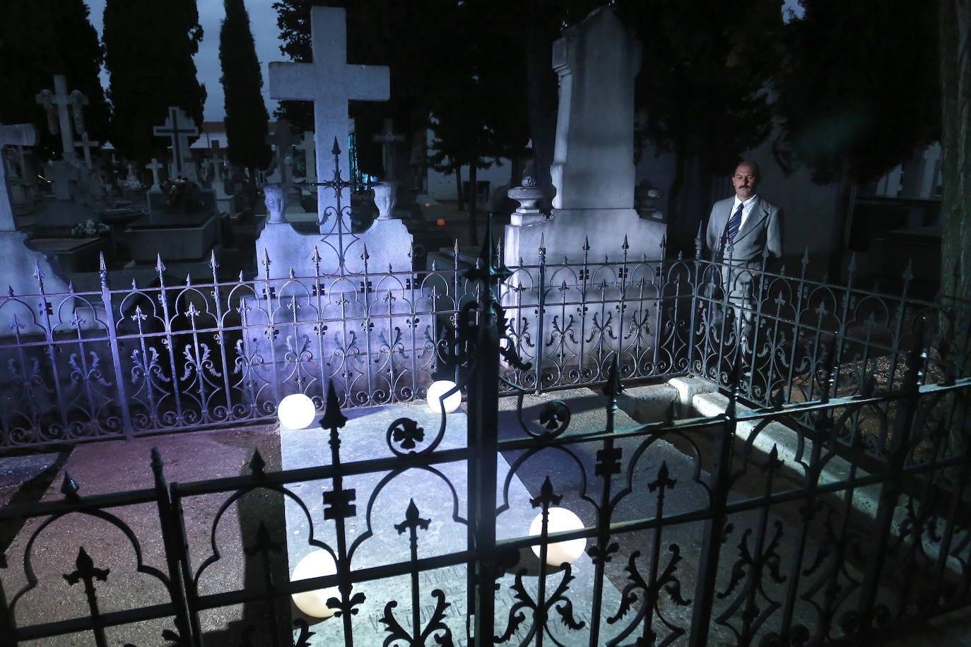 Ruta cultural y teatralizada por el cementerio de León
