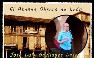 El profesor José Luis Gavilanes repasa este jueves la historia del Ateneo Obrero de León