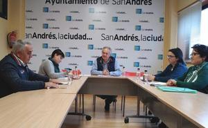 El concejal de Juntas Vecinales reúne a los presidentes de las pedanías de San Andrés para coordinar líneas de trabajo